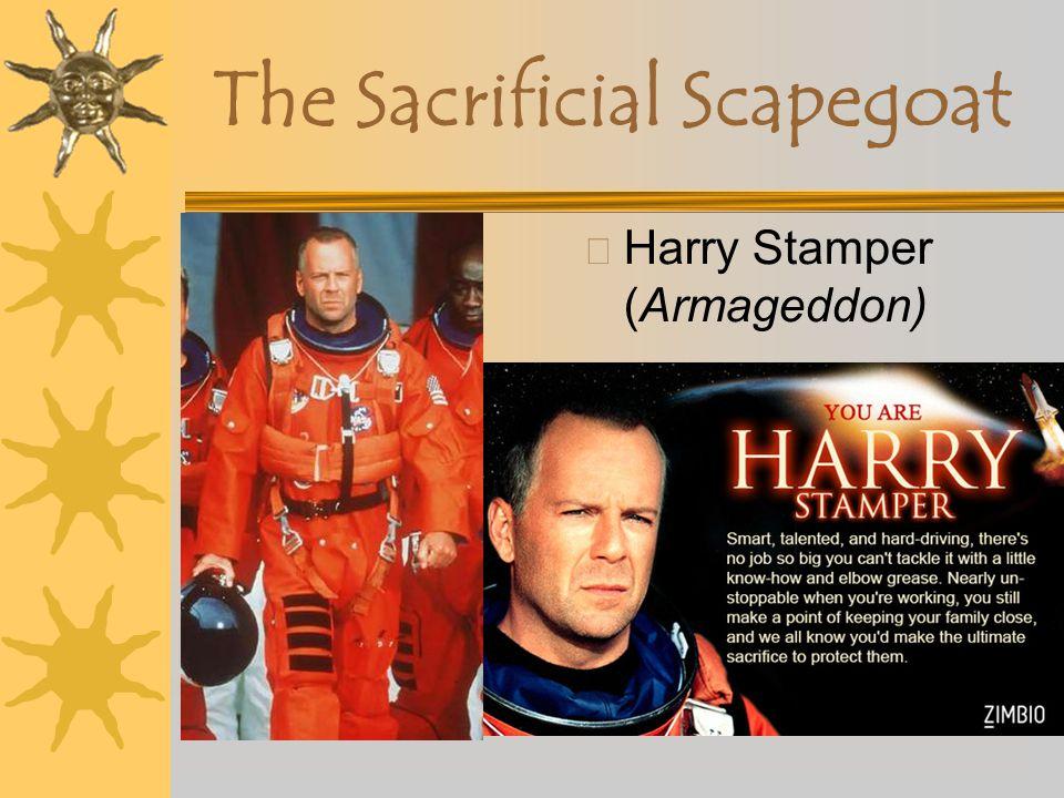 The Sacrificial Scapegoat