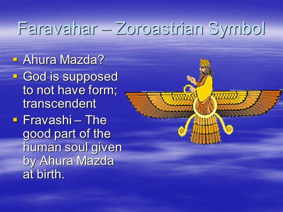 Faravahar – Zoroastrian Symbol