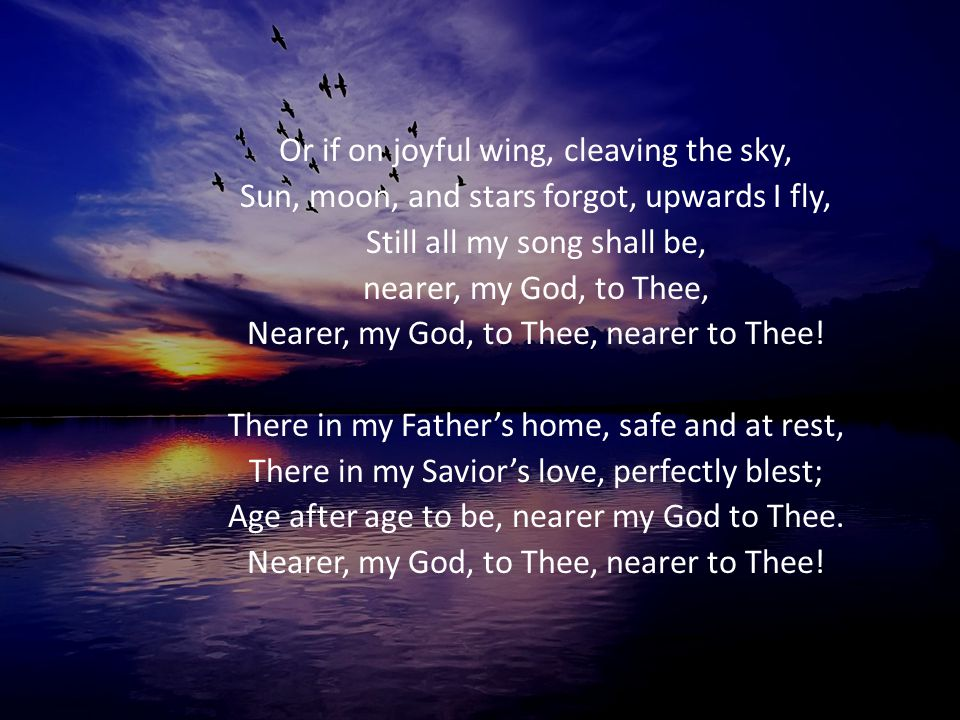 Or if on joyful wing, cleaving the sky,
