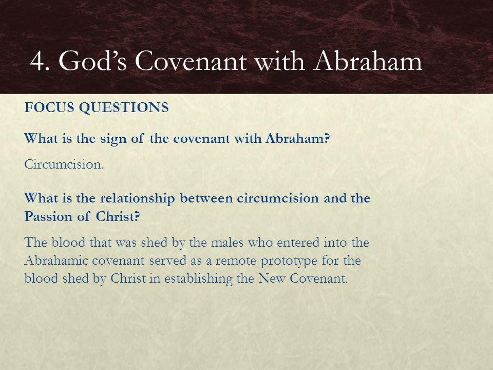 4. God's Covenant with Abraham