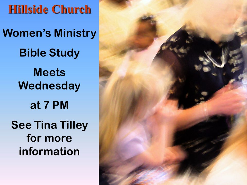 See Tina Tilley for more information