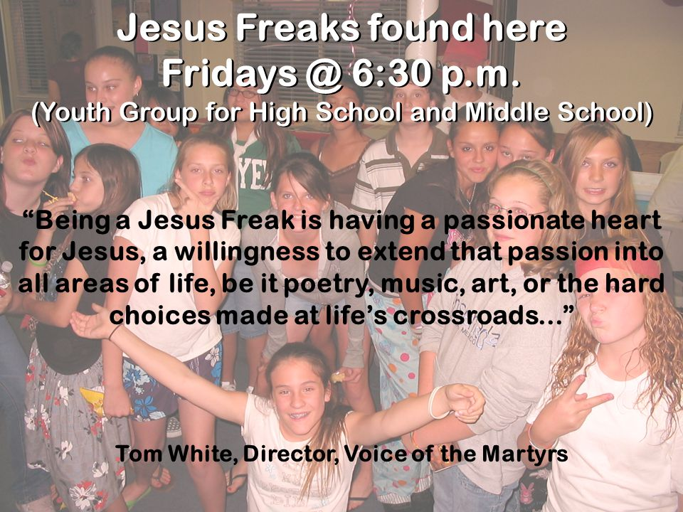 Tom White, Director, Voice of the Martyrs