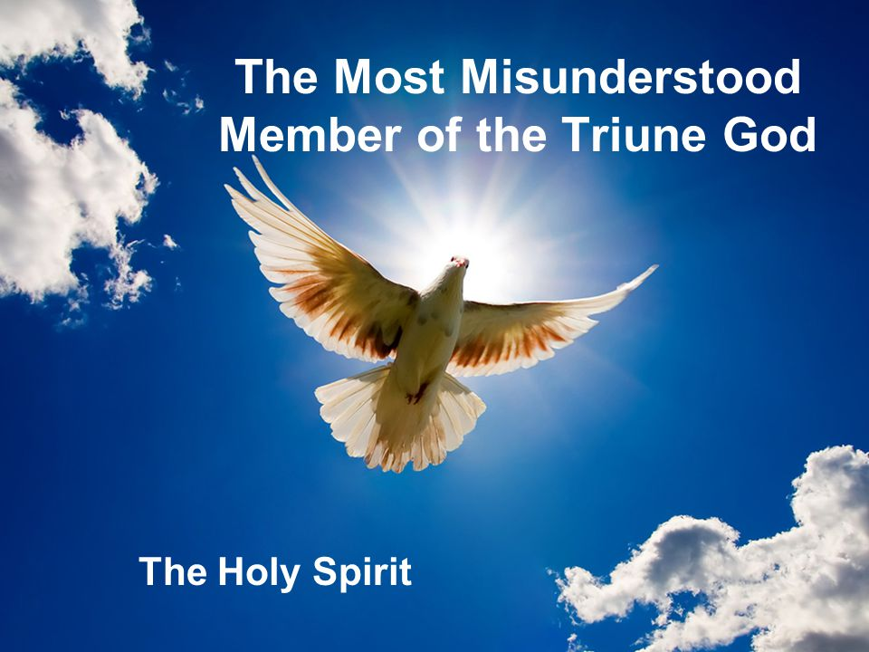 The Most Misunderstood Member of the Triune God
