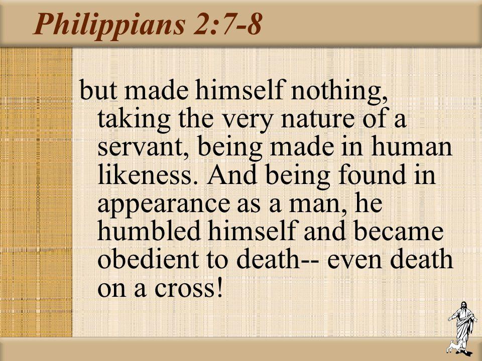 Philippians 2:7-8