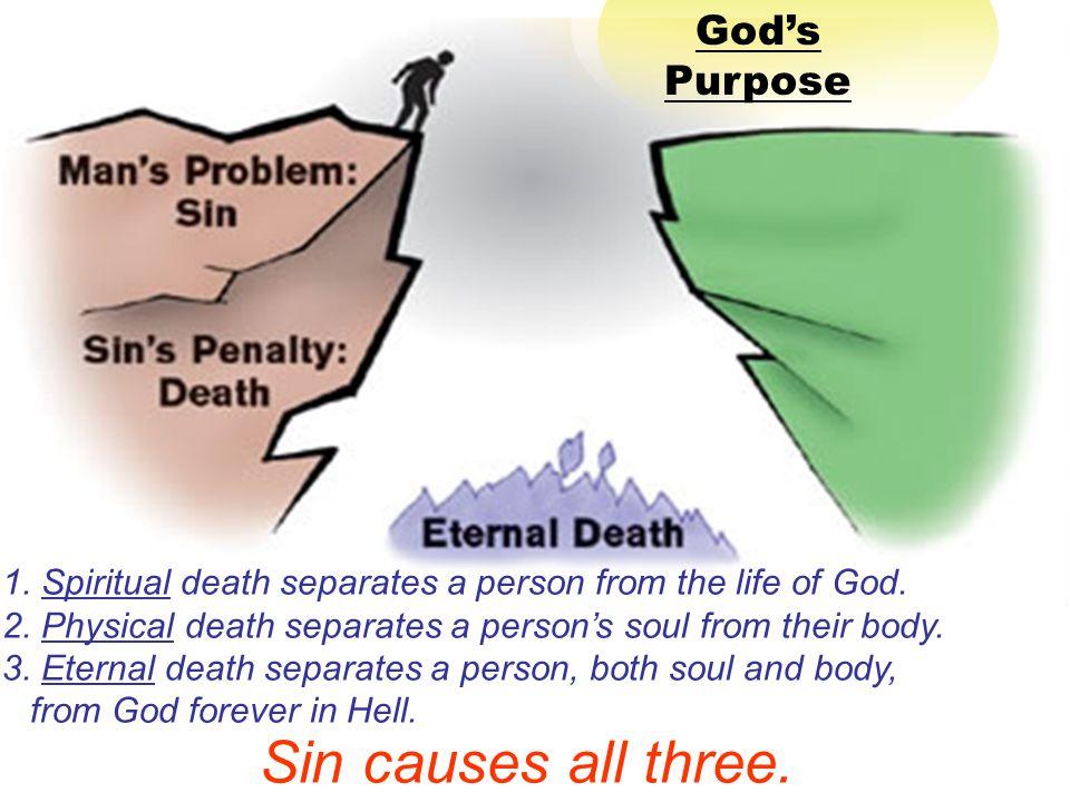 Sin causes all three. God's Purpose