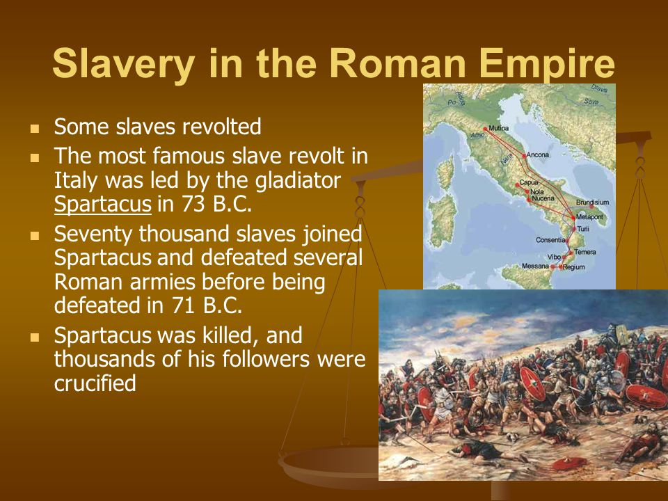 Slavery in the Roman Empire
