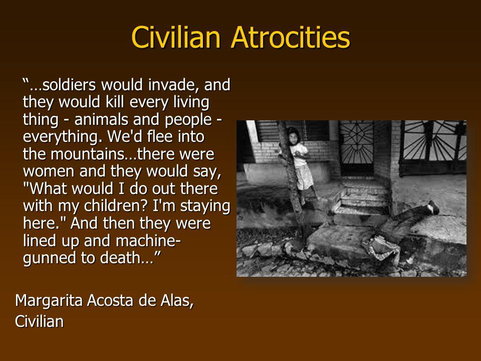 Civilian Atrocities