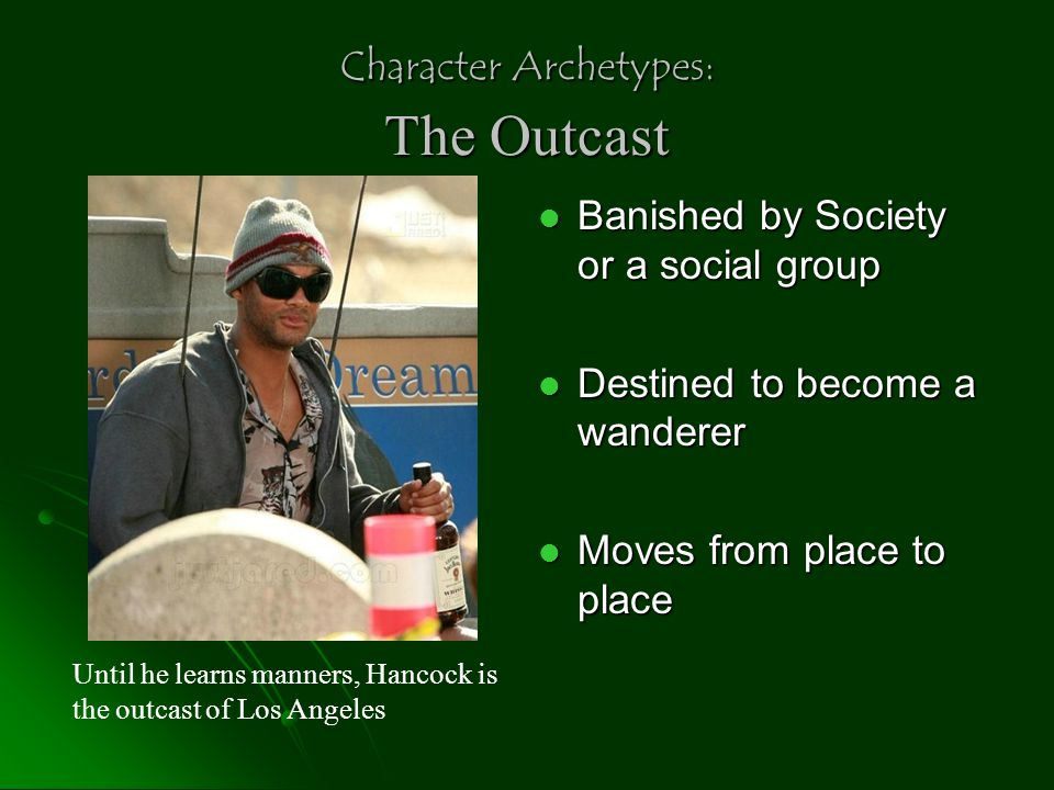 Character Archetypes: The Outcast
