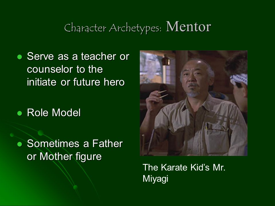 Character Archetypes: Mentor