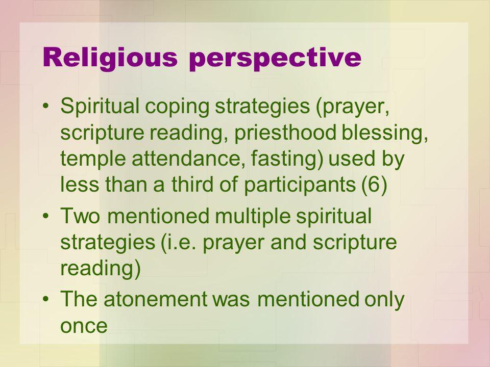 Religious perspective