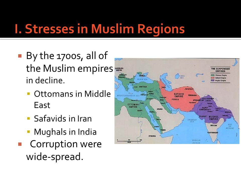 I. Stresses in Muslim Regions