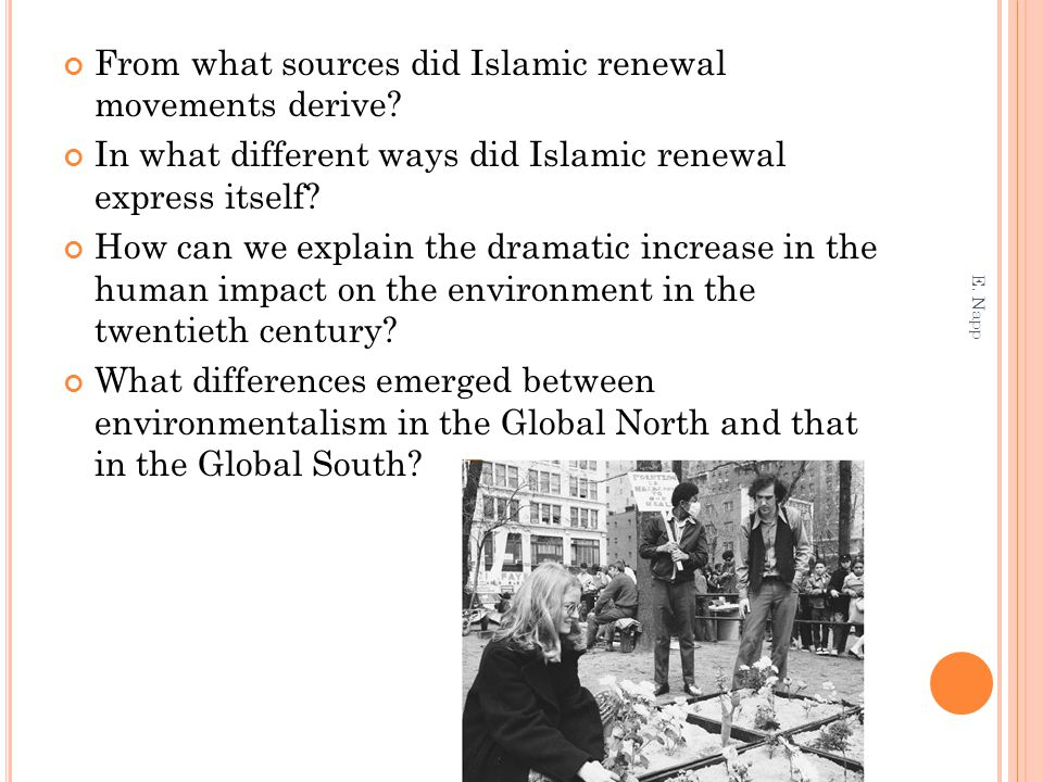 From what sources did Islamic renewal movements derive