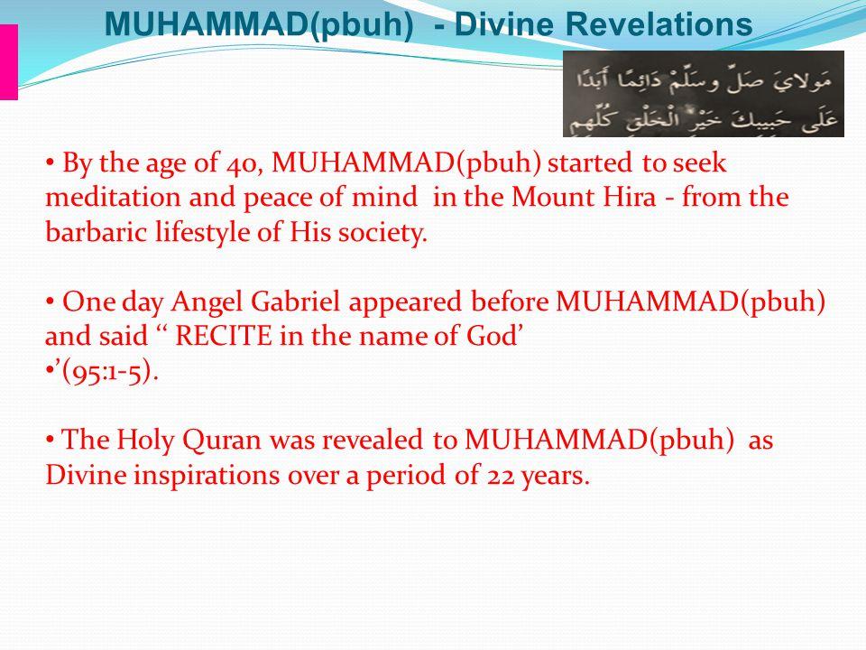 MUHAMMAD(pbuh) - Divine Revelations