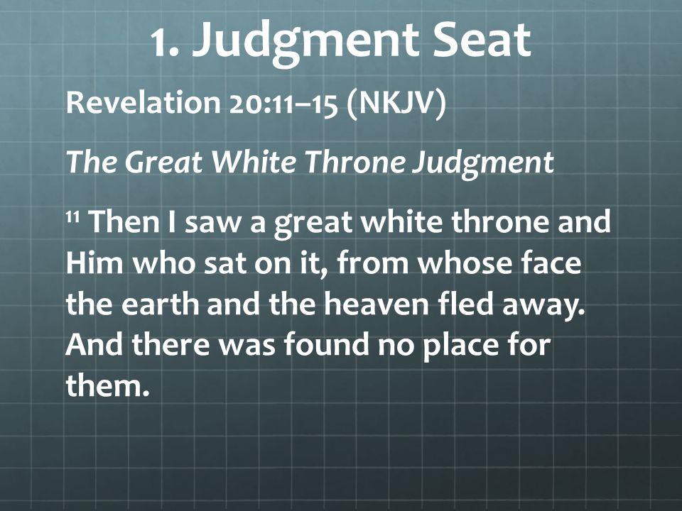 1. Judgment Seat