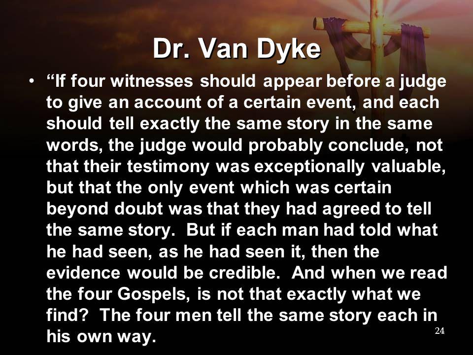 Dr. Van Dyke