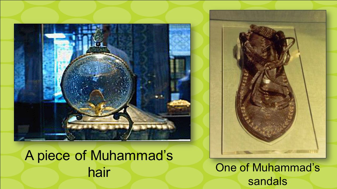 A piece of Muhammad's hair