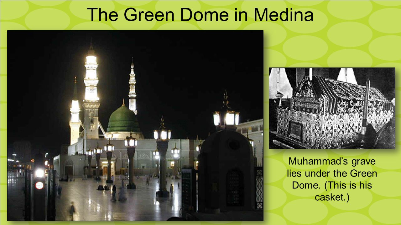 The Green Dome in Medina