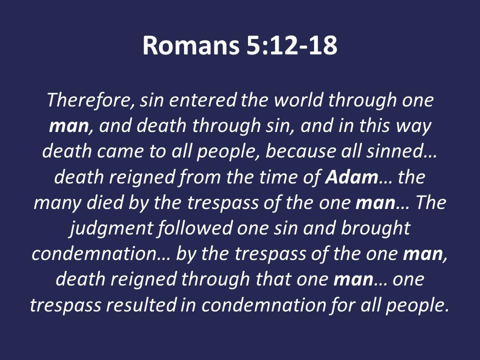 Romans 5:12-18