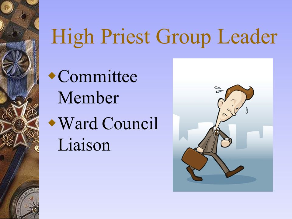 High Priest Group Leader