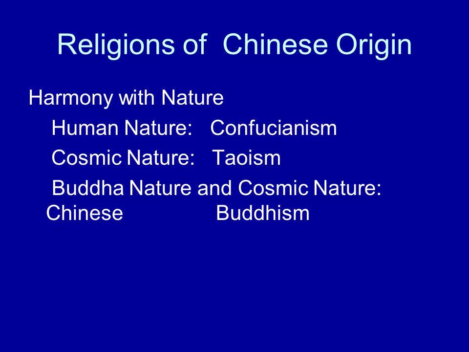Religions of Chinese Origin