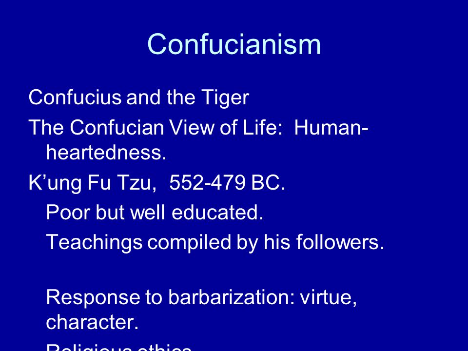 confucius and virtue 2003-1-17  confucius and his disciples who succeeded in transmitting and trans-forming their ancient culture  an introduction to confucianism (( ).
