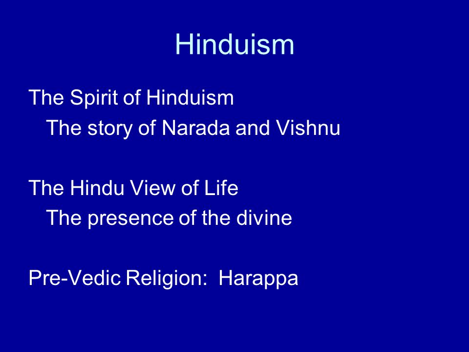 an analysis of the hinduism religions and the hindu perspective on life Abortion from the perspective of eastern religions: hinduism and  2010 abortion from the perspective of eastern religions:  hindu perspective.