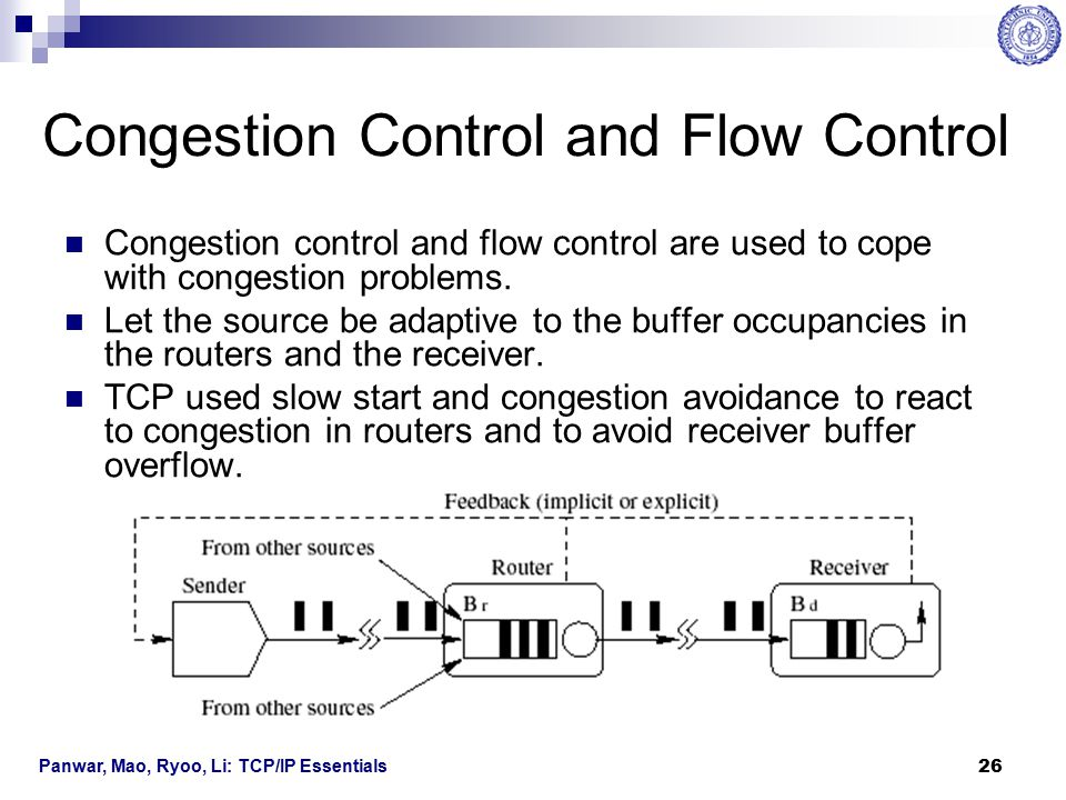 Congestion Control and Flow Control