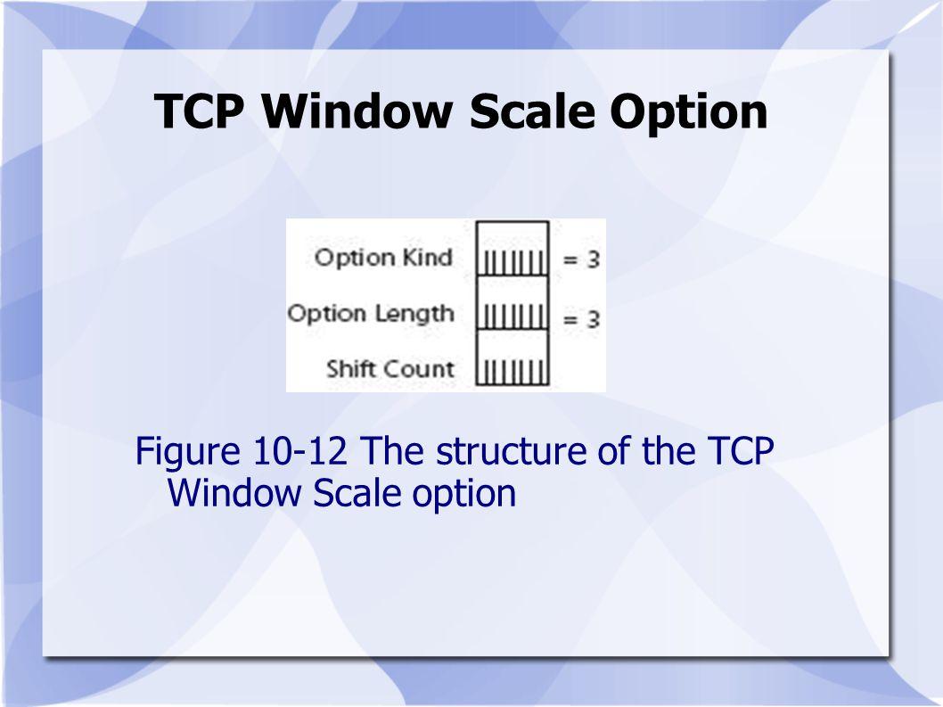 TCP Window Scale Option