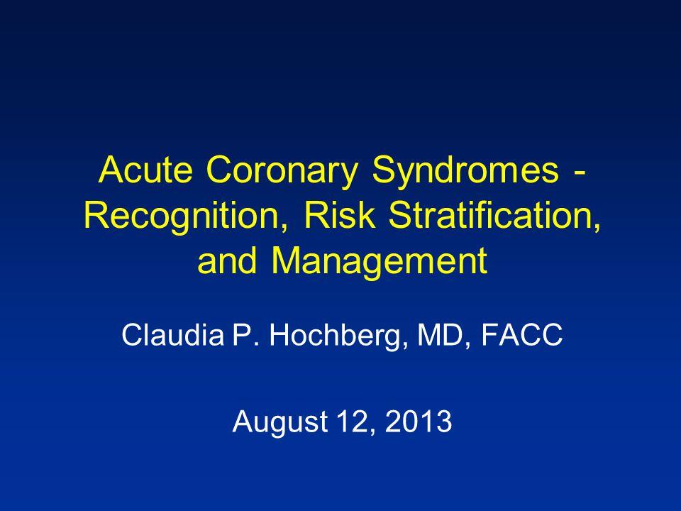 Claudia P. Hochberg, MD, FACC
