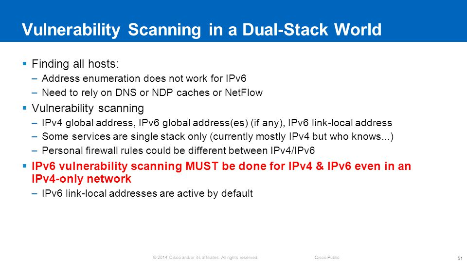 Vulnerability Scanning in a Dual-Stack World