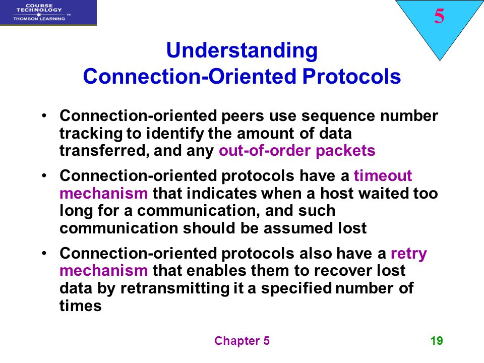 Understanding Connection-Oriented Protocols