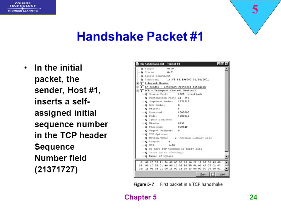 Handshake Packet #1