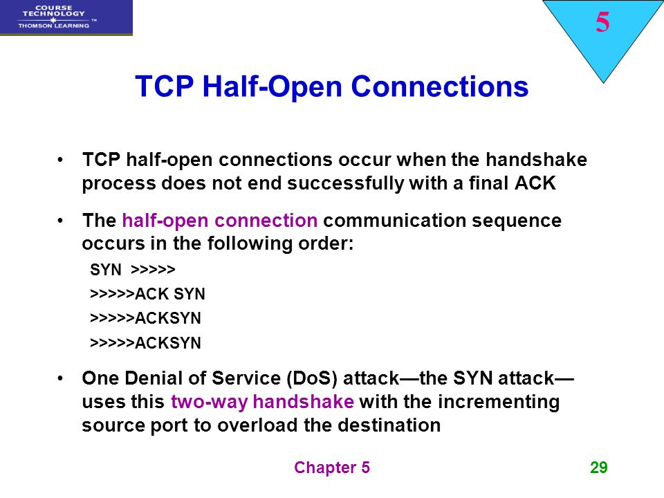 TCP Half-Open Connections