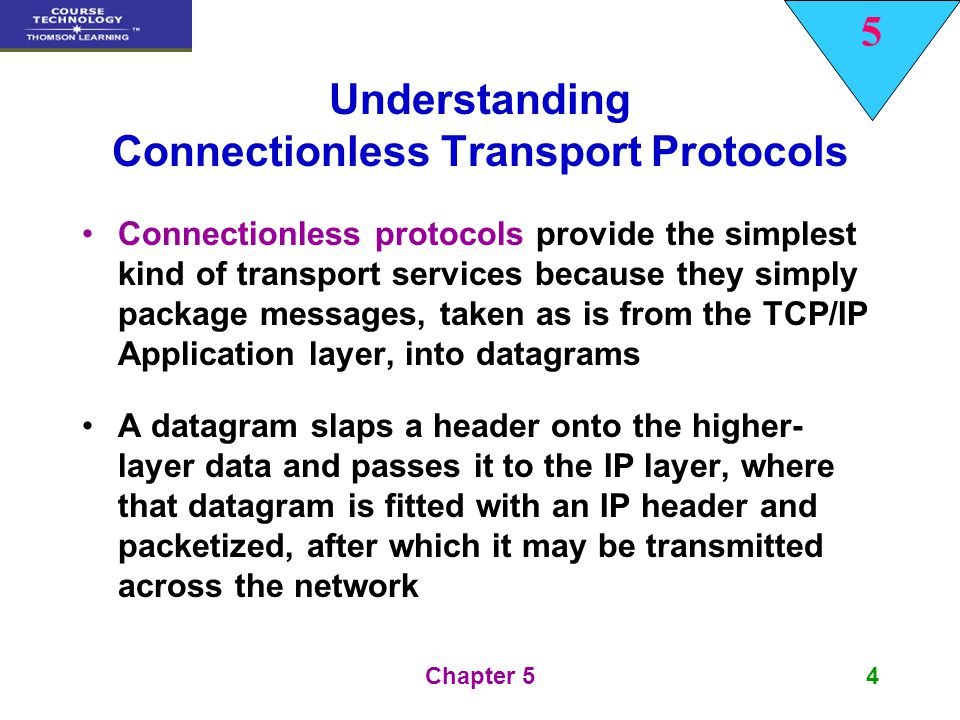 Understanding Connectionless Transport Protocols