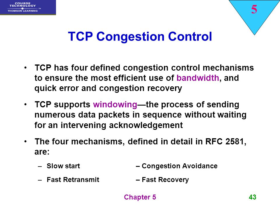 tcp congestion control Tcp congestion control problem - duration: 2:41 wce sy it 2016-17 cn tutorials 1,709 views tcp-ip 2016: congestion control - duration: 21:31.