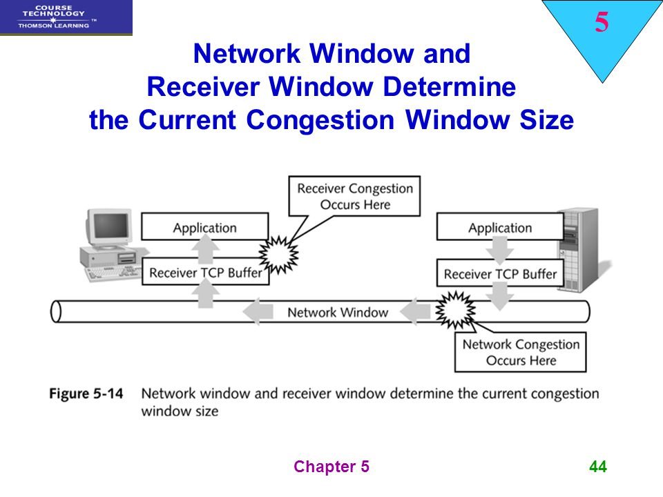 Network Window and Receiver Window Determine the Current Congestion Window Size