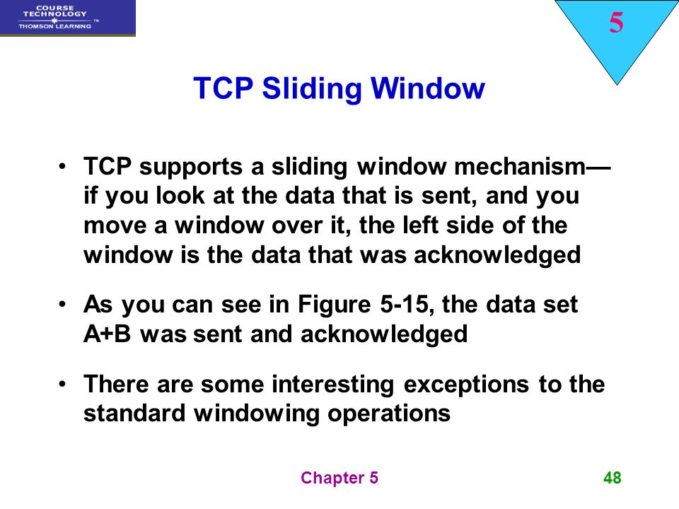 TCP Sliding Window