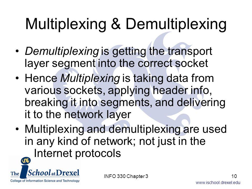Multiplexing & Demultiplexing