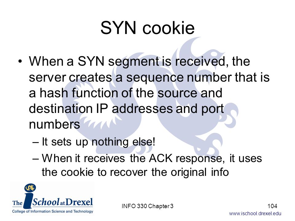 SYN cookie