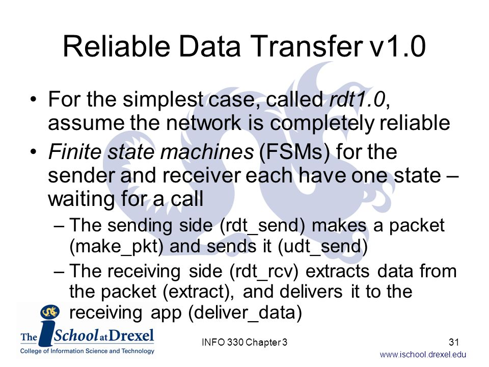 Reliable Data Transfer v1.0
