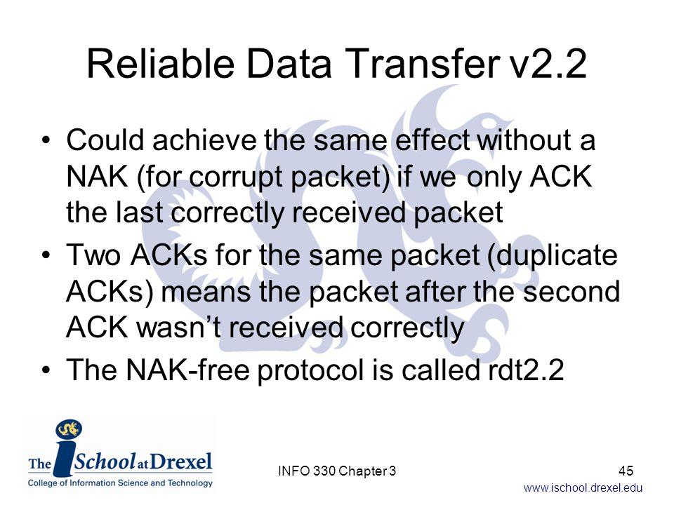 Reliable Data Transfer v2.2
