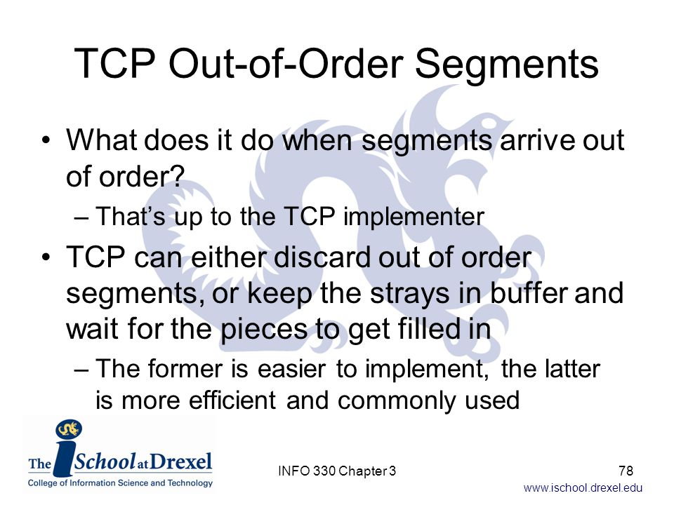 TCP Out-of-Order Segments