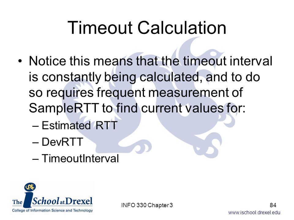 Timeout Calculation