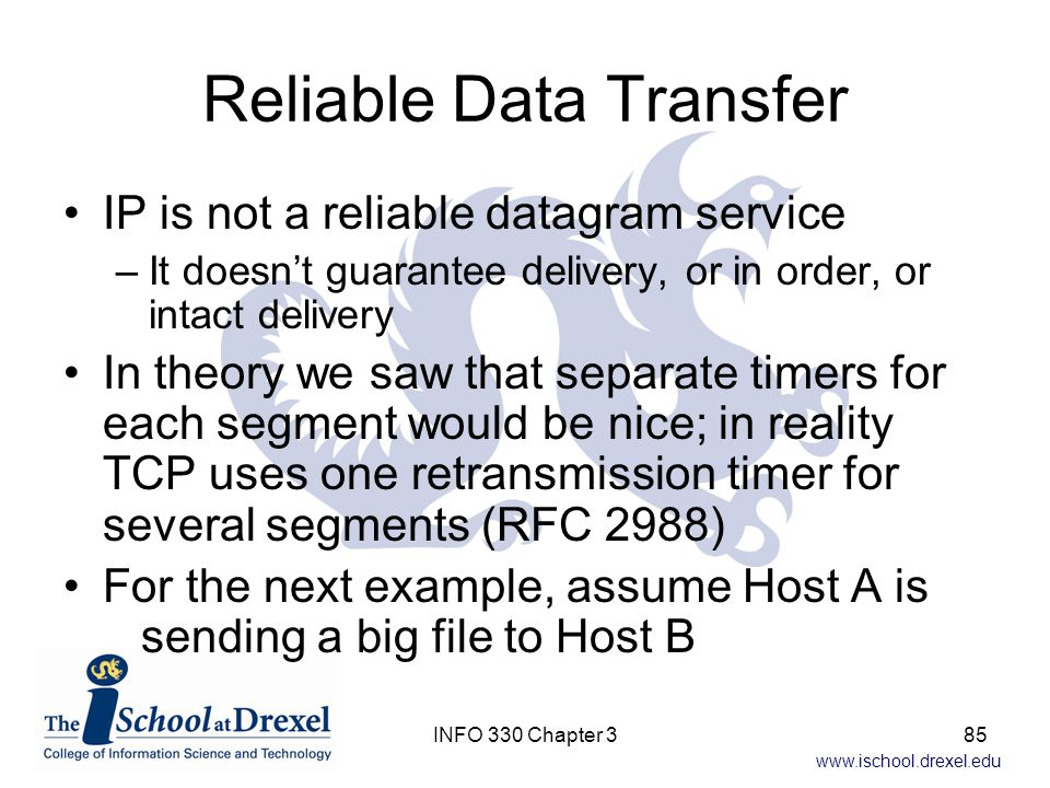 Reliable Data Transfer