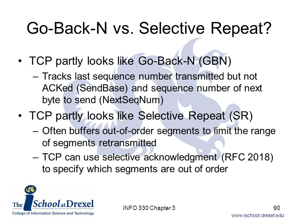 Go-Back-N vs. Selective Repeat