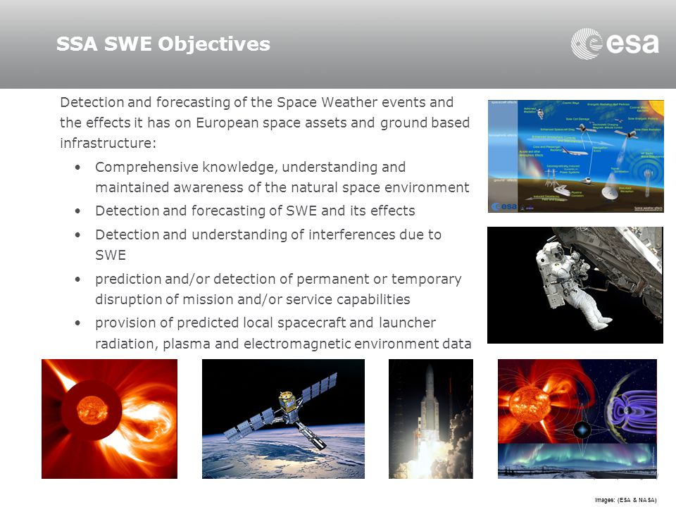 SSA SWE Objectives