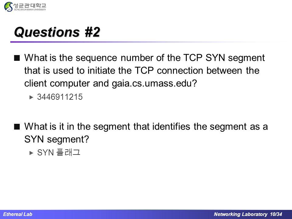 Questions #2