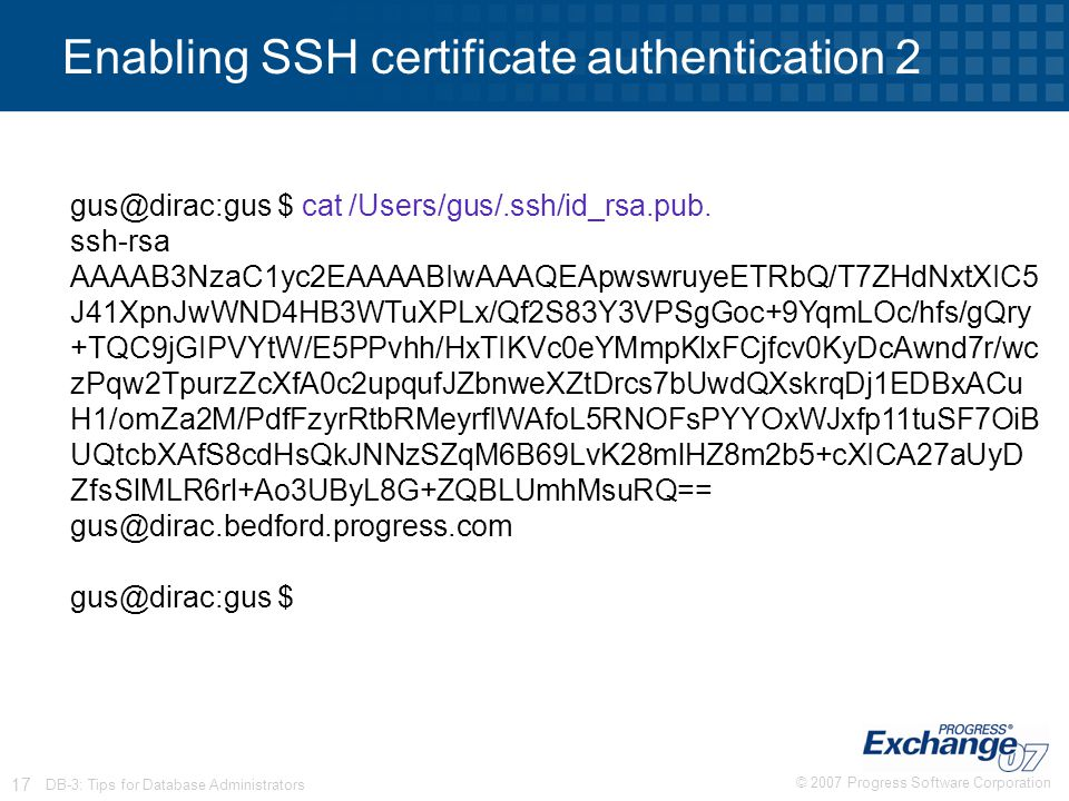 Enabling SSH certificate authentication 2