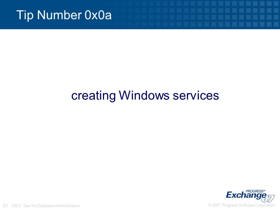 creating Windows services