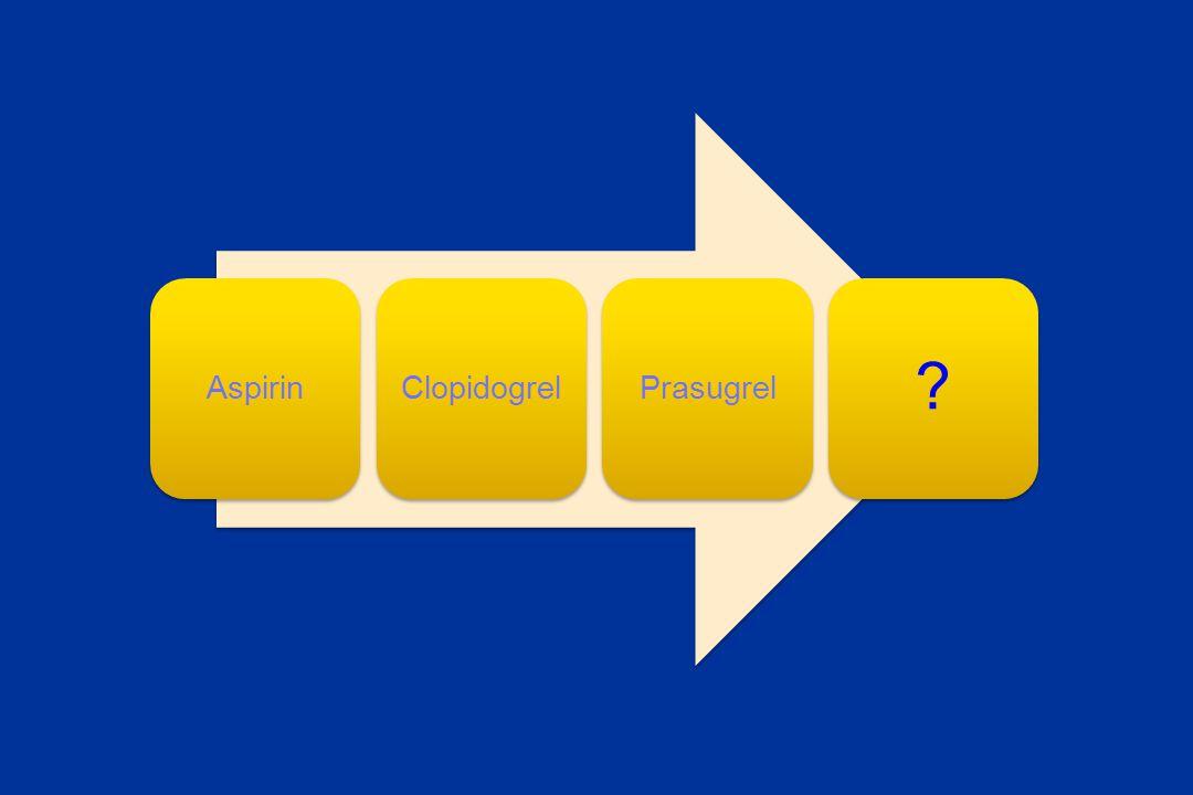 Aspirin Clopidogrel Prasugrel